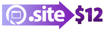 .SITE domains are $12
